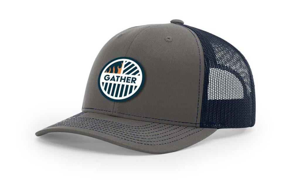 Charcoal/Navy with Circle logo