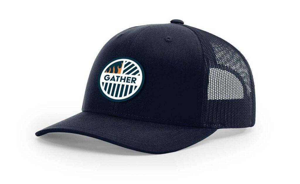 Navy with Circle logo