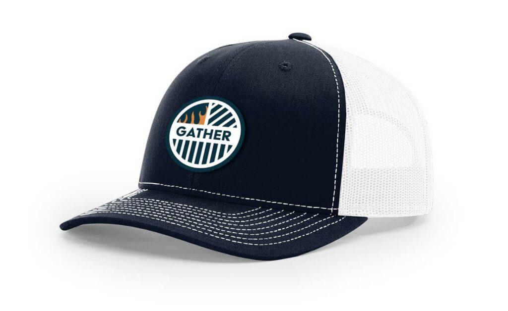 Navy/White with Circle logo