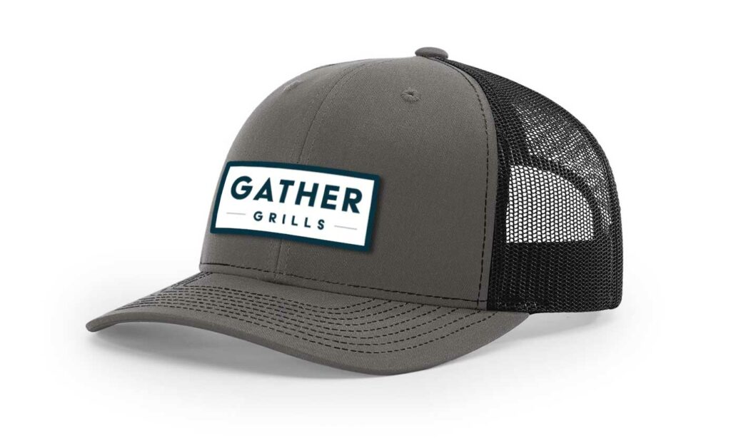 Charcoal/Black with Rectangle logo