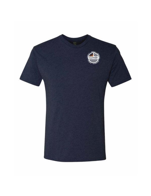 Navy with circle logo T-Shirt