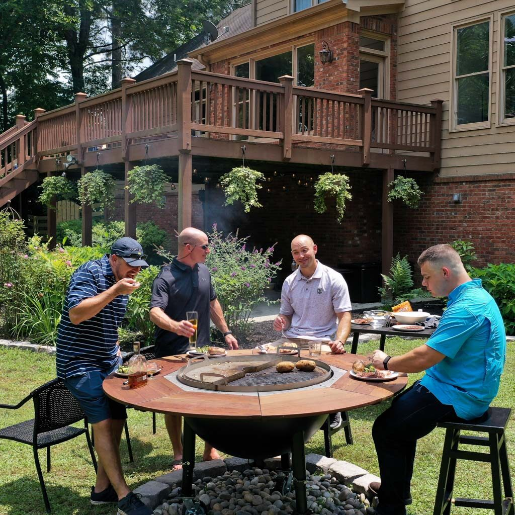 Grill Table for 6 People